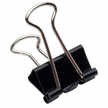 Binder Clip (prendedor de Papel)15mm Brw Pote com 60 Unidades