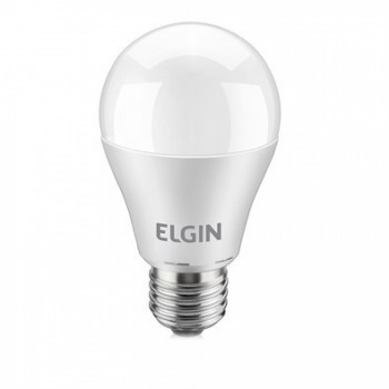 Lampada Led Elgin Bulbo A60 Bivolt E27 9,8w 6500k Branca